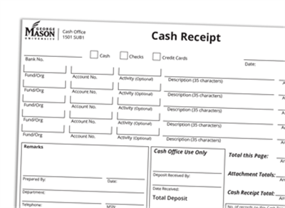 GMU Cash Receipts